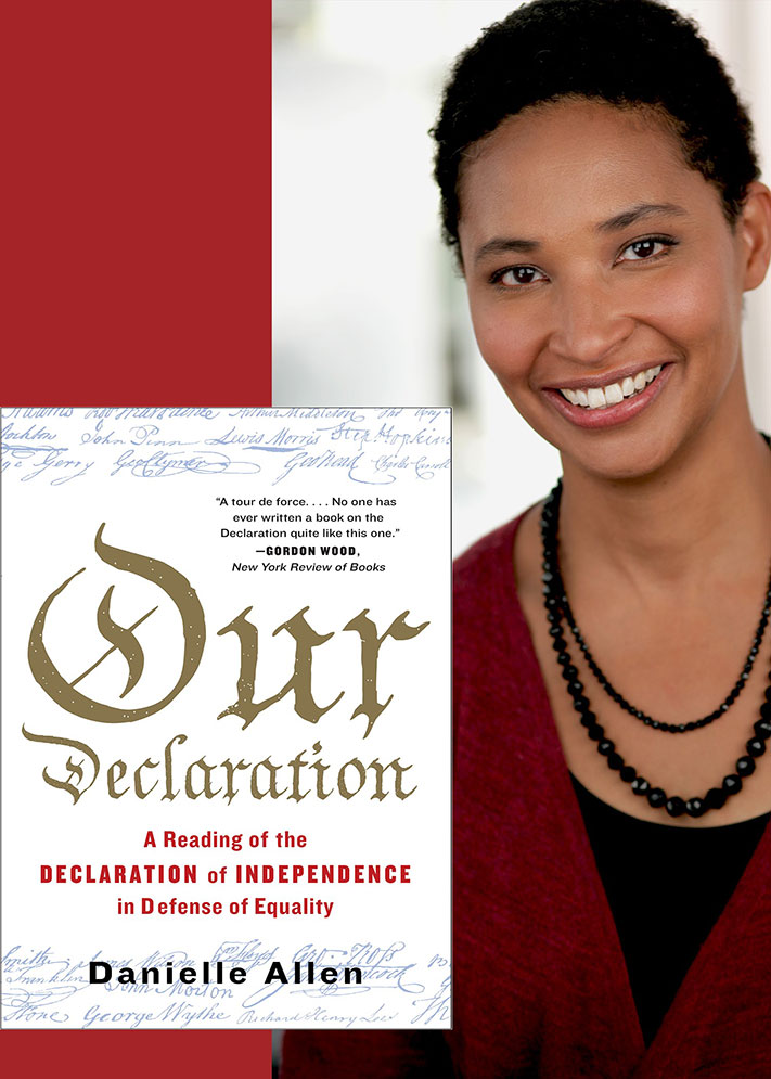 Picture of the One Book Northwestern book Our Declaration