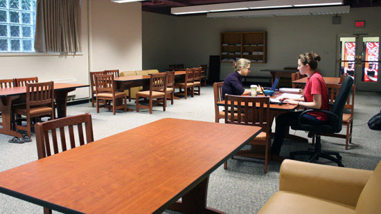 Students in Study Area